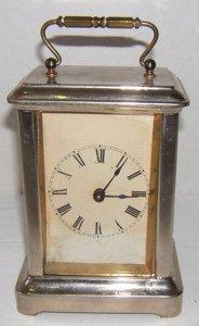 23: Antique Waterbury Carriage Clock