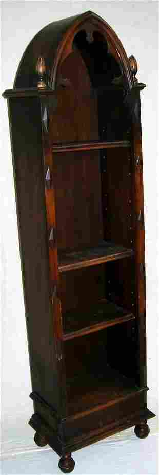 Gothic Style Bookcase