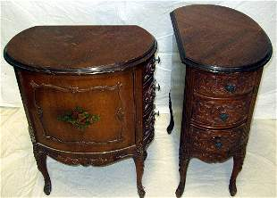 2 French Nightstands