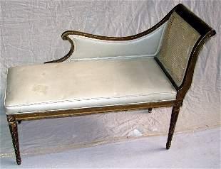 Gilt Chaise Lounge