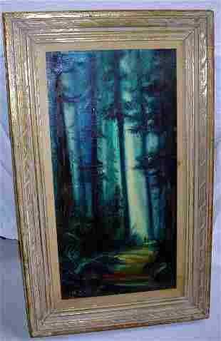 Signed Marilyn Erickson Painting