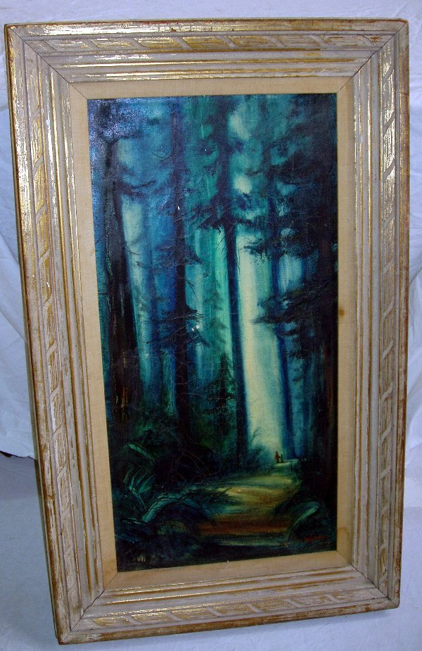 17: Signed Marilyn Erickson Painting