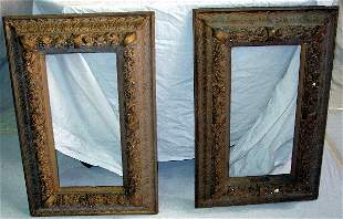 2 Wood Gilt Frames