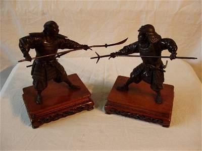 91: Bronze Samurai Warriors