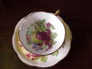 """8: """"Rosina"""" Fine Bone China Cup & Saucer"""