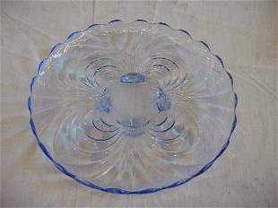Moonlight Blue Cabaret Plate