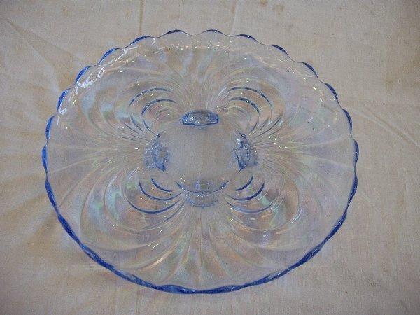 11: Moonlight Blue Cabaret Plate