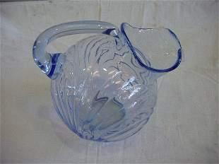 Moonlight Blue Caprice Glass