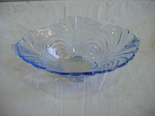 16: Blue Light Moon Caprice Bowl