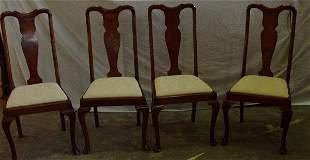 4 Queen Ann Chairs from Scotland