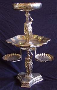 76: Silver Plate Epern