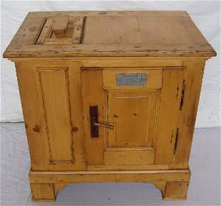 European Pine Ice Box