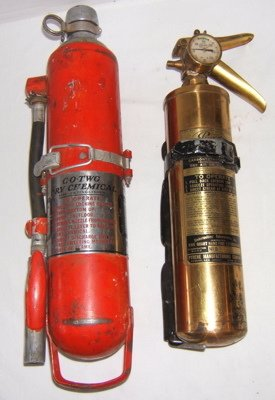 401: 2 Antique Fire Extinguishers