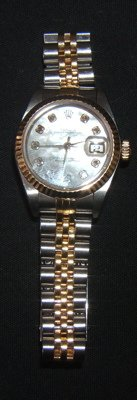 482: Ladies Rolex 2 Tone Wrist Watch