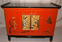 533: Asian Zenith TV Carved Cabinet