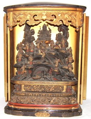 536: Antique Chinese Shrine