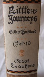 626: Roycrofters 14 Elbert Hubbard Little Journey's Boo