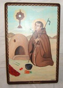 632: Contemporary Religious San Pascual Belarmino Esqui