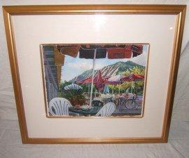 633: Painting Boulder, CO Flat Irons by Elizabeth Black