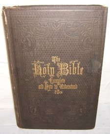 639: Holy Bible 1868 by Rev. Nathaniel West D.D.
