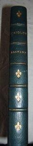 642: Antique French Edmond Rostand L'Aiglon Book 1900