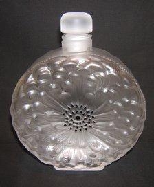 735: French Lalique Perfume Bottle