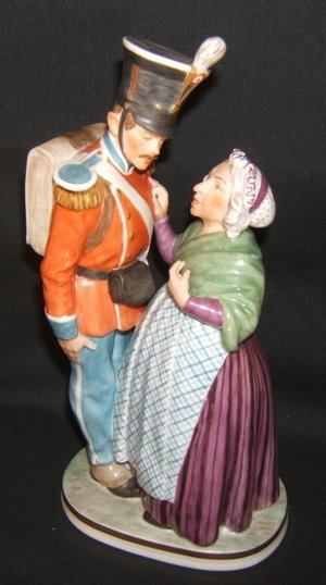305: Denmark Figure Soldier With Mother