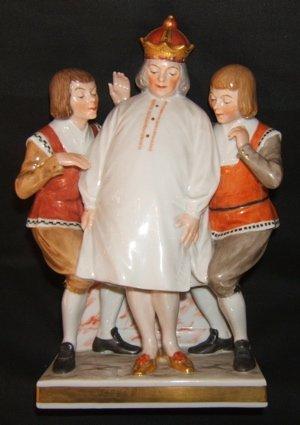 306: Denmark Figure Dressing the Emperor