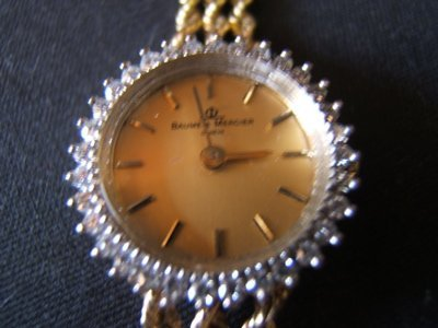 509: Baume & Mercier Diamond Wrist Watch
