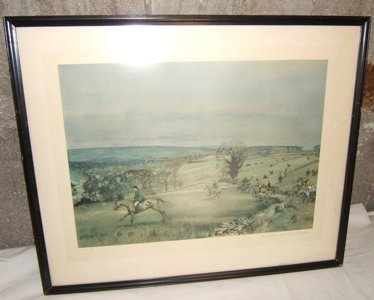 9: English Lithograph by Michael Lyne