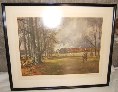 10: English Lithograph by Michael Lyne