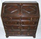 308: 18th Century English Drop Front Desk