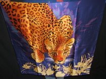 310: Into Africa Silk Scarf by Mike Fitzpatrick