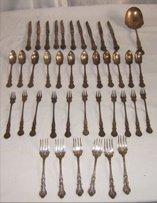 315: Meridian Roger Bros Silver Plate Flatware
