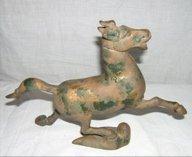 324: Cast Iron Japanese Horse