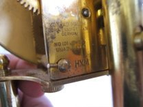 337: Koma Dome Clock Konrad Maunch Germany - 3