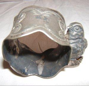 501: Antique Victorian Napkin Ring Knicker Bocker Silve