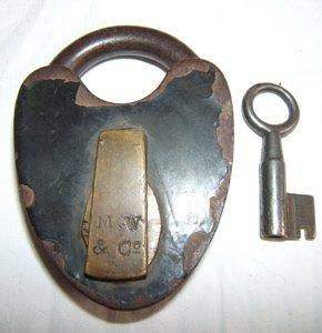 503: Railroad Lock & Key M.W. & Co.