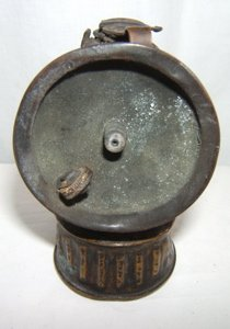 "510: Antique Miners Lantern ""Just Rite"" ""1915"""