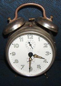 522: Antique German Alarm Clock