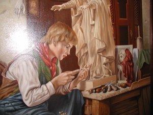 2040: Painting by R. Nippress - 6
