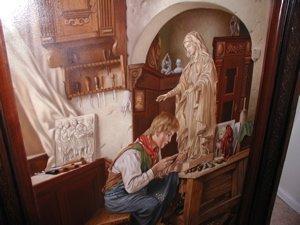 2040: Painting by R. Nippress - 8