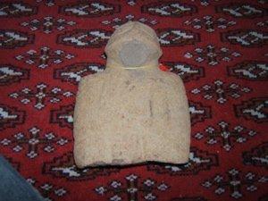 1: Pre-Columbian Stone Figure