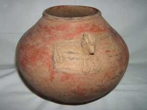 6: Pre-Columbian Monster Type Pot