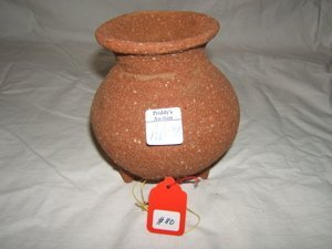16: Pre-Columbian Tripod Jar