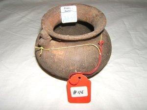 18: Pre-Columbian 2 Legged Pot