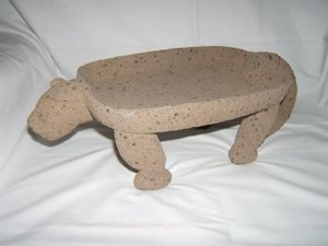 20: Pre-Columbian Jaguar Effigy Grinding Stone