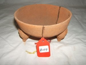 21: Pre-Columbian 3 Legged Bowl