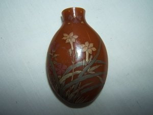 4: Antique Asian Snuff Bottle