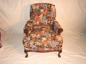16: Antique Queen Ann Occasional Chair